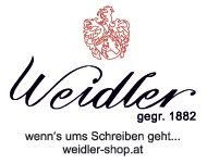 Weidler-Logos-Wennsumsschreibengeht